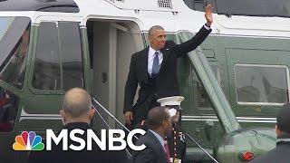 Former President Barack Obama Says Goodbye | MSNBC