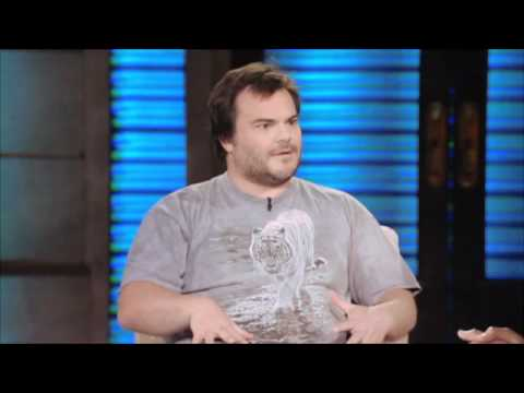 Jack Black Wants to Be a Red Hot Chili Pepper on Lopez Tonight (pt1) 5-24-11