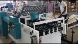 "Fully automatic Paper Folding machine ""Ratan"""