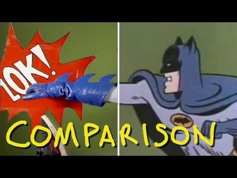 Batman 1966 TV Show Intro  Homemade Comparison
