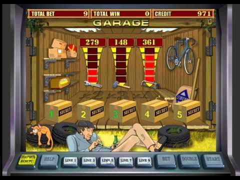 Играть в гаражи автоматы купить игровые автоматы г.одинцово