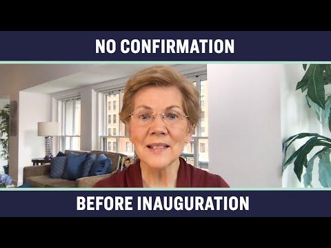 Elizabeth Warren Responds to Donald Trump's Supreme Court Pick