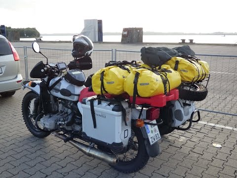 URAL Sidecar Motorcycle Tour to Norway & Sweden - Part 1: Getting There