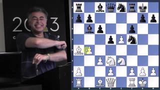 Repeat youtube video Chess Genius | Morozevich vs. Svidler - GM Yasser Seirawan - 2013.05.29