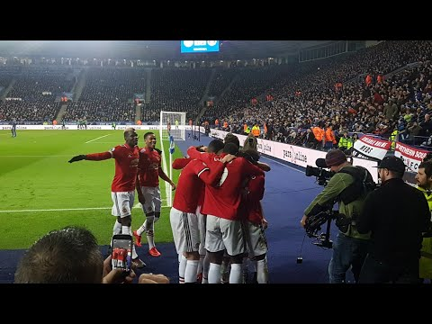 Juan Mata Goal From The Away End | Leicester 2 - 2 Manchester United
