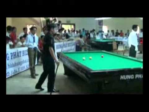 Trận khai mạc VĐQG Billiards 2011 - Vietnam