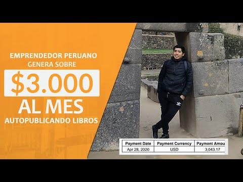 Emprendedor Peruano Genera Sobre 3.000 Dólares En Un Mes Autopublicando Libros - Paul Romero
