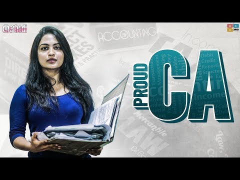 Proud CA    Dedicated to all CA Students    Dhethadi