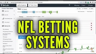 NFL Betting Systems - Win Money Betting on NFL Football