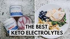 What I Eat Ketotarian + Keto Electrolytes