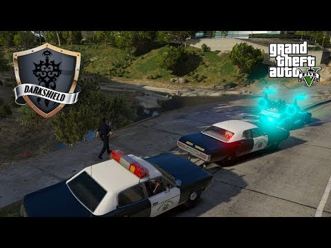 GTA 5 Roleplay - Darkshield - #17 - Retro Week - Unidentified Driving Object.