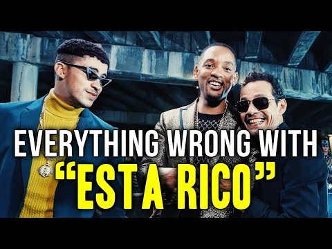 Everything Wrong With Marc Anthony, Will Smith, Bad Bunny -