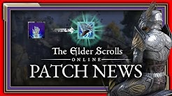 ESO Greymoor Patch Notes | Perfekte Mahlstrom Waffen? | The Elder Scrolls Online Patch News