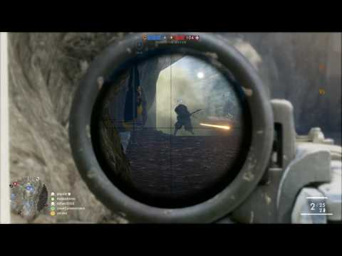 Battlefield 1 - Operation match 9 - scout - 1080p 60fps - No commentary