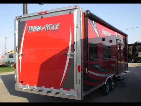 Work And Play Toy Hauler >> New 2017 Forest River Work And Play 25wab Mount Comfort Rv