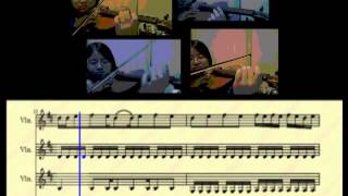 Viva La Vida + Love Story - THE PIANO GUYS - VIOLIN COVER with sheet music