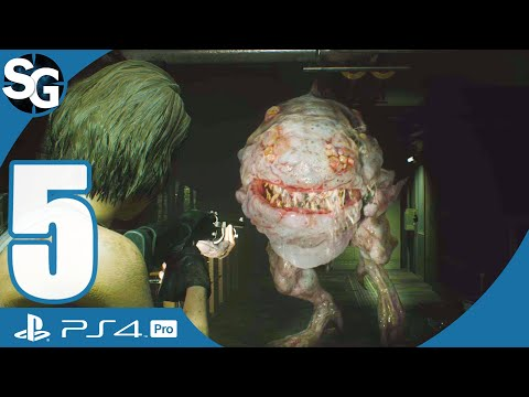 Resident Evil 3 Remake Walkthrough Gameplay (No Commentary) | Hunter Gamma (The Sewers) - Part 5