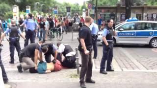 Polizeigewalt 05.07.2014