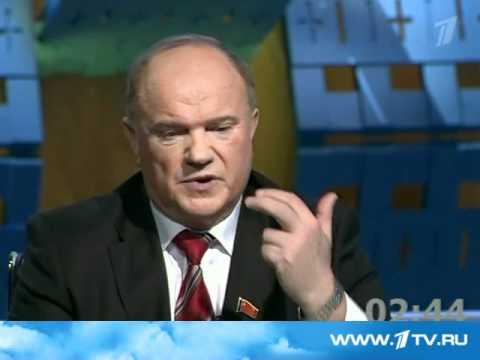 Дебаты Г.А.Зюганова и В.В.Жириновского на
