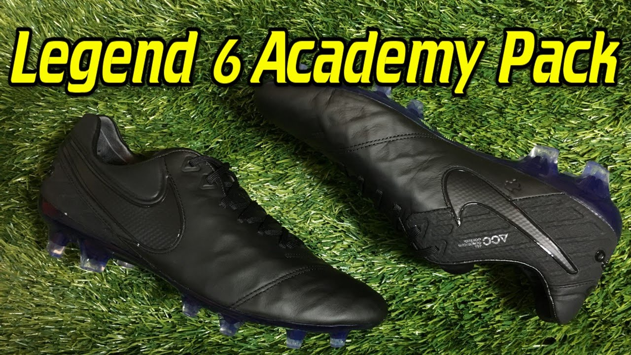 476e663264d57 Nike Tiempo Legend 6 (Academy Pack) Blackout - Review + On Feet - YouTube