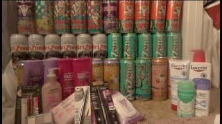 CVS MAR 9 DEAL (32 CANS OF ARIZONA OMG!!!!!!)