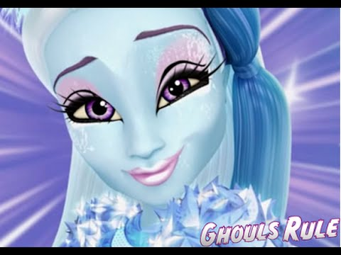 monster high abbey bominable ghouls rule makeup tutorial youtube