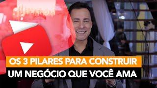 132- Os 3 Pilares Para Construir um Negócio que Você Ama │ Rodrigo Cardoso
