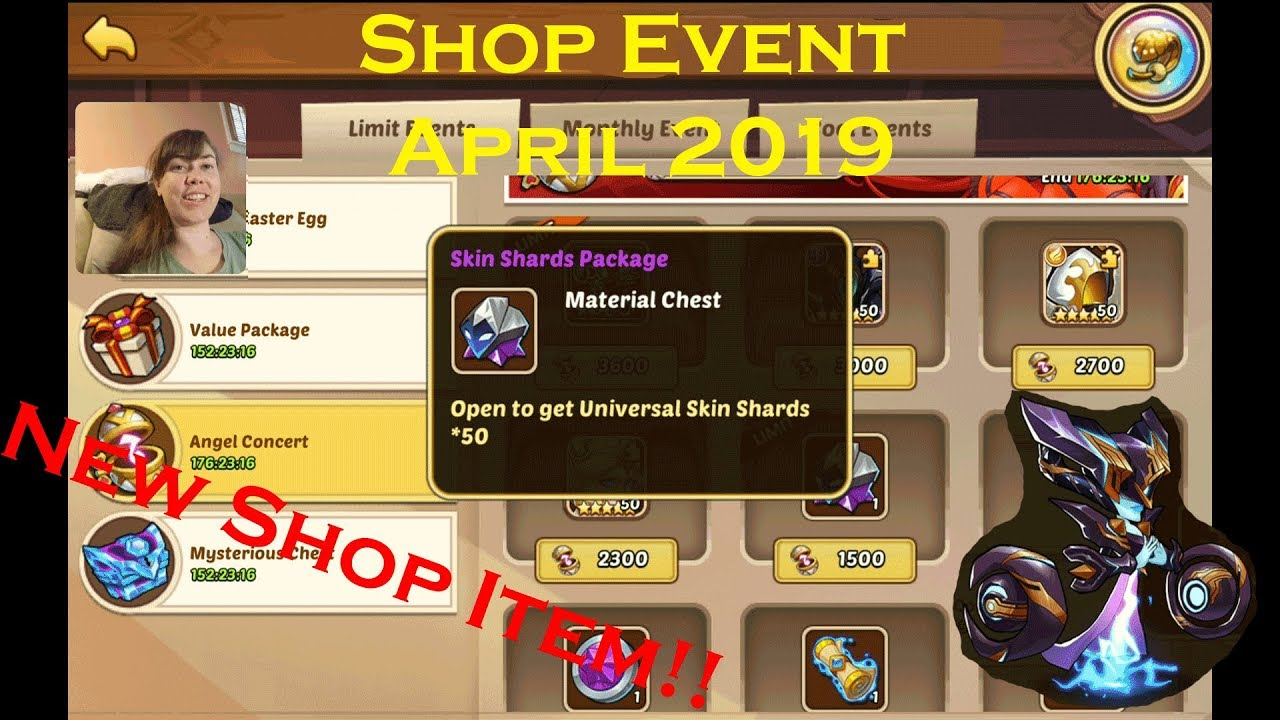 Play Idle Heroes Events