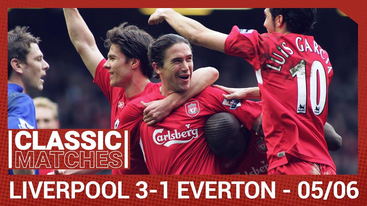 Premier League Classic: Liverpool 3-1 Everton | Kewell's fine strike seals derby win