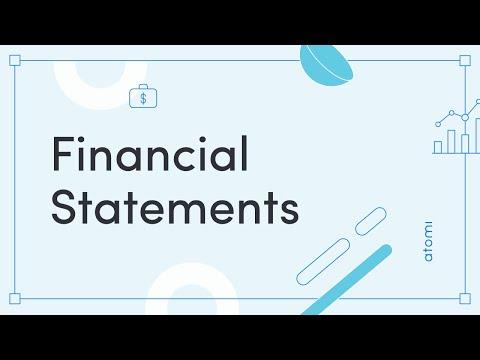 HSC Business Studies: Financial Statements