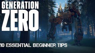 10 ESSENTIAL beginner tips for GENERATION ZERO