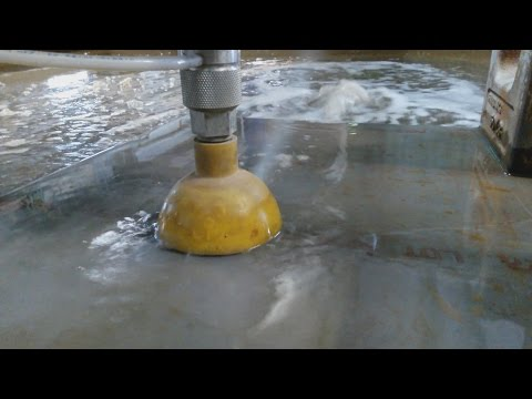 Cutting Metal With Water! Omax Water Jet in Action