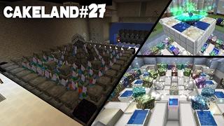 CakeLand FTB #27: КРЕАТИВНЫЙ БАССЕЙН МАНЫ, Куб и Автоматизация Таумкрафта!