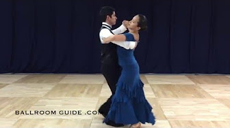 Click to watch Ballroom style Tango moves