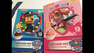 Arts and Crafts - We baked paw patrol cupcakes (Chase  Skye)