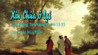 Xin Chúa Ở lại-Lm Thái nguyên