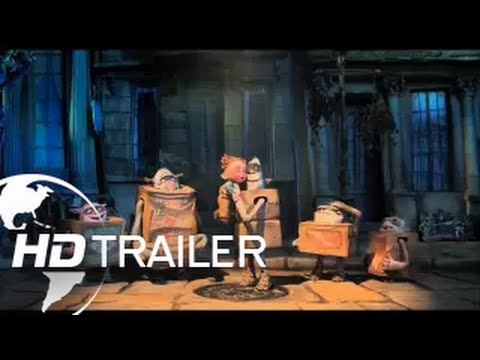 THE BOX TROLLS - BIOPREMIÄR 12 SEPTEMBER (Trailer 1)