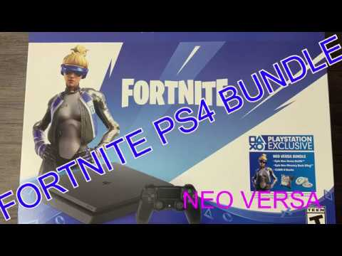 Fortnite Neo Versa Ps4 Bundle Unboxing