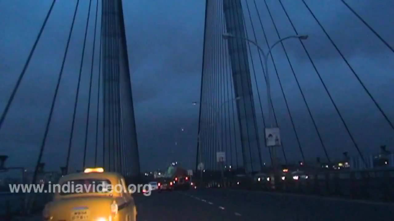 Kolkata at Night Calcutta West Bengal - YouTube