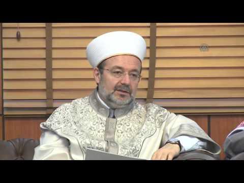 President of Turkey's Religious Affairs Directorate Mehmet Gormez in Saudi Arabia 2