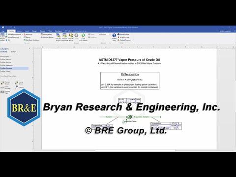D6377 Vapor Pressure to RVP