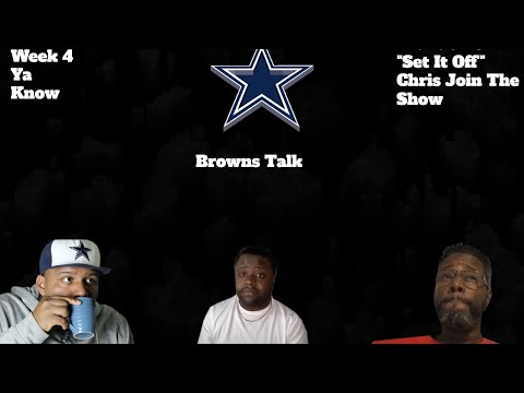 Voch & Frankly Football Crew Breakdown Cowboys vs Browns & Other Stuff