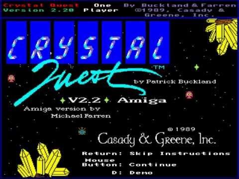 Crystal Quest (Amiga) (Gameplay)