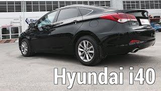 | Авто обзор на Hyundai i40 | машина красивая но себе бы не купил!