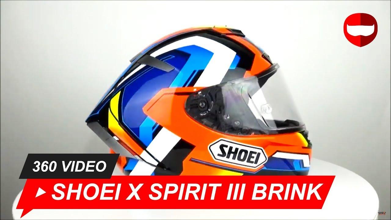 020308355f6 Shoei X Spirit III Brink TC-1 Helmet Unboxing - ChampionHelmets com ...