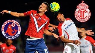 Veracruz Vs Toluca 3-0 - El Color 2015