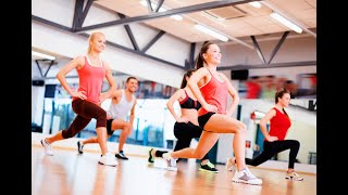 Dance Fitness Aerobic Workout For Beginners STEP BY STEP