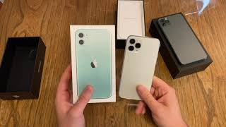Apple iPhone 11 Pŗo Unboxing und erster Eindruck