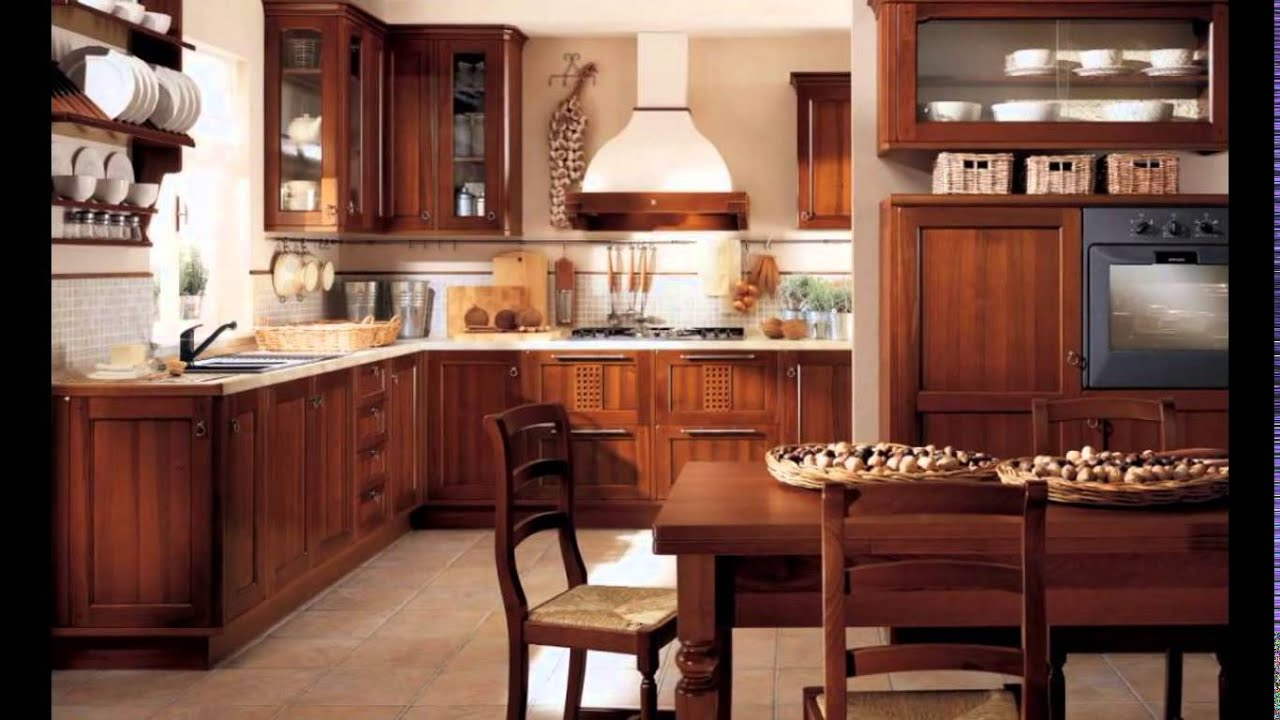 Traditional Small Kitchen Design Ideas, Traditional ...