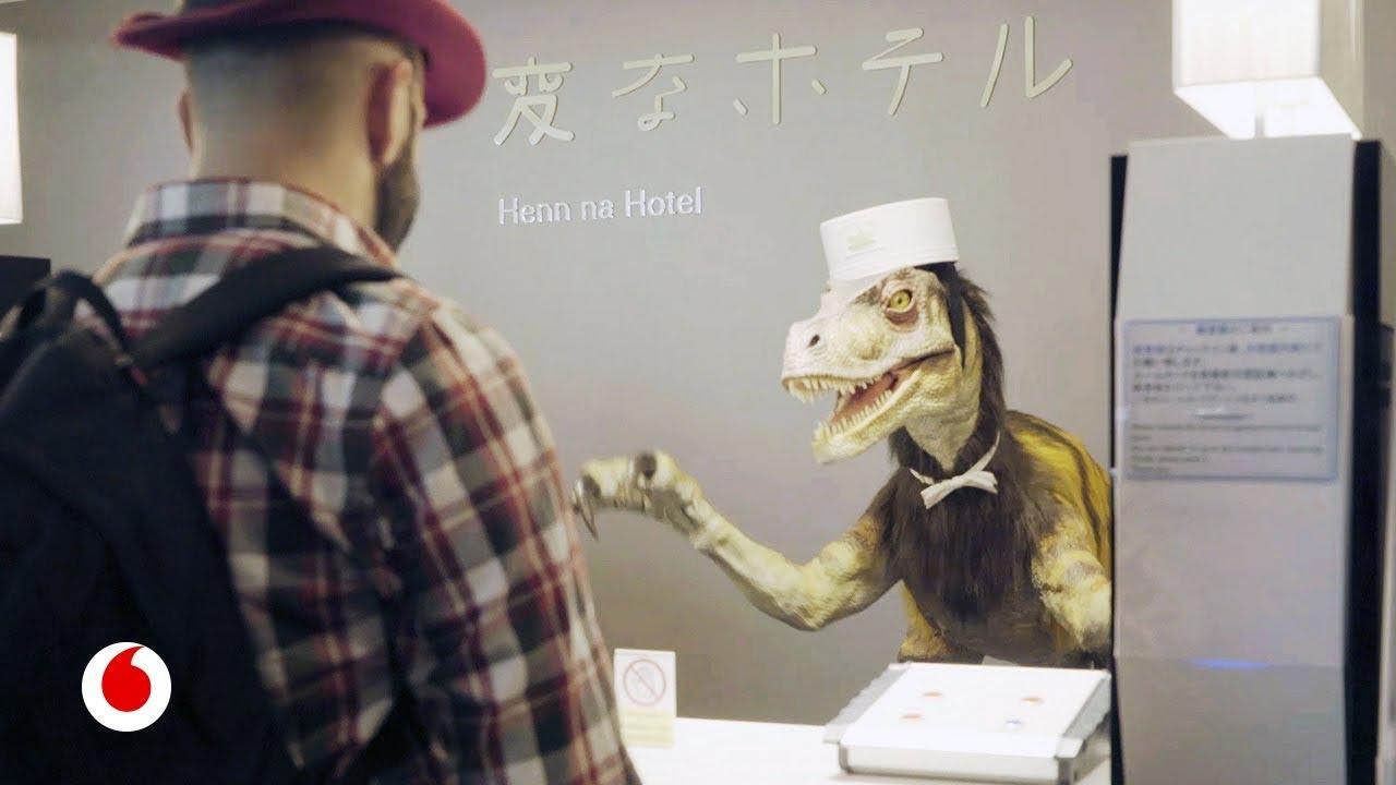 Nos alojamos en el hotel japonés gestionado íntegramente por robots